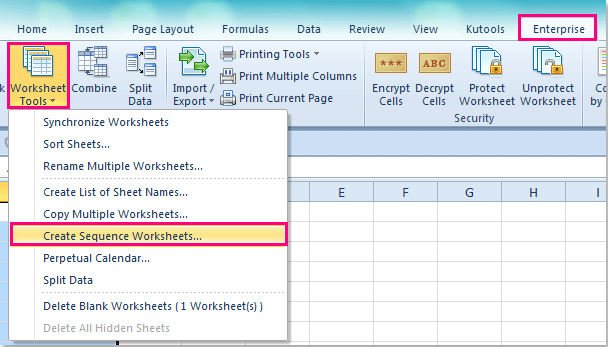 How to add new worksheet with current date in Excel?