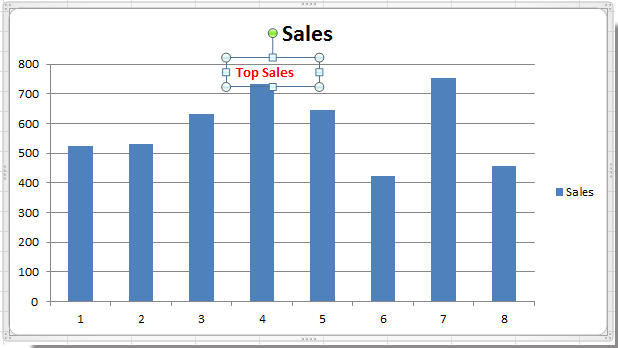 how to add text to excel graph