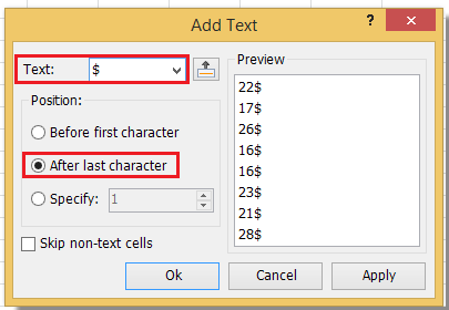 how to add units to a number in excel