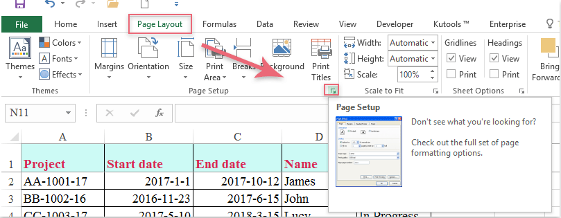 How to print frozen panes on every page in excel worksheet ccuart Choice Image