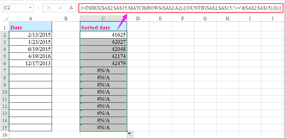 how to change auto date format in excel
