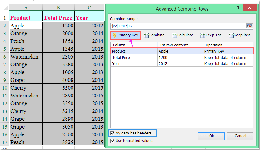excel how to add average on column