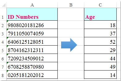 Dating age range formula derivation
