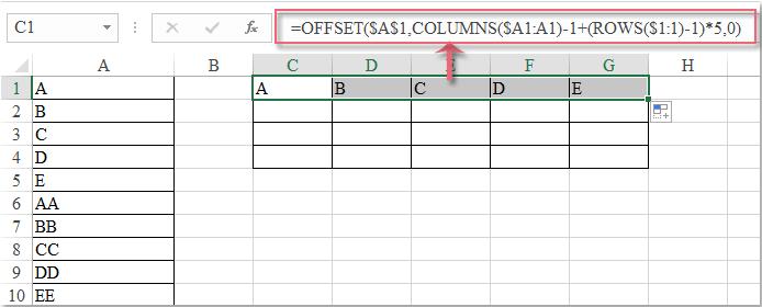 doc-convert-column-to-rows-2