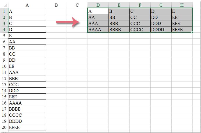 doc-convert-column-to-rows-9
