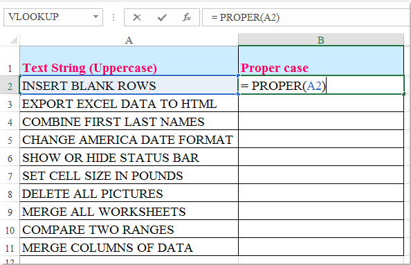 doc change uppercase to propercase 2