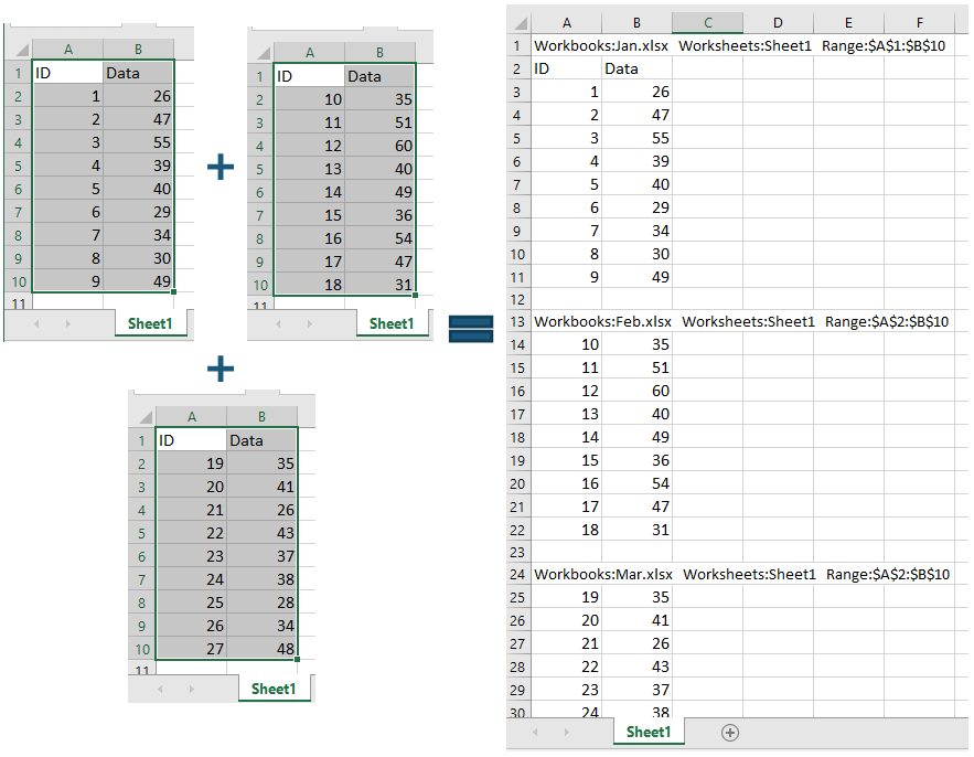 doc collect sheets into one 14