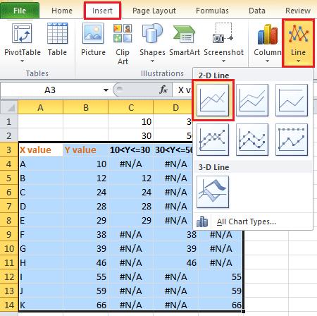 Change chart color based on value in excel doc color chart based on value 12 ccuart Images