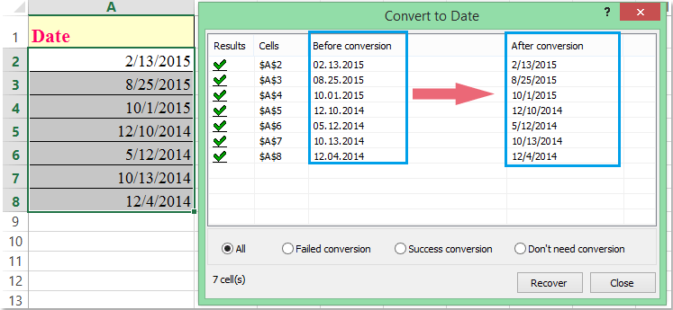 how to write slash in excel