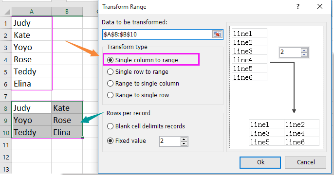 How To Get A Row Or Column Letter Of The Current Cell In Excel
