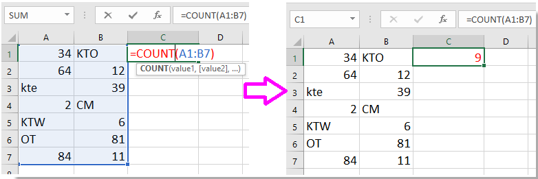 how to get a1 numbering in excel