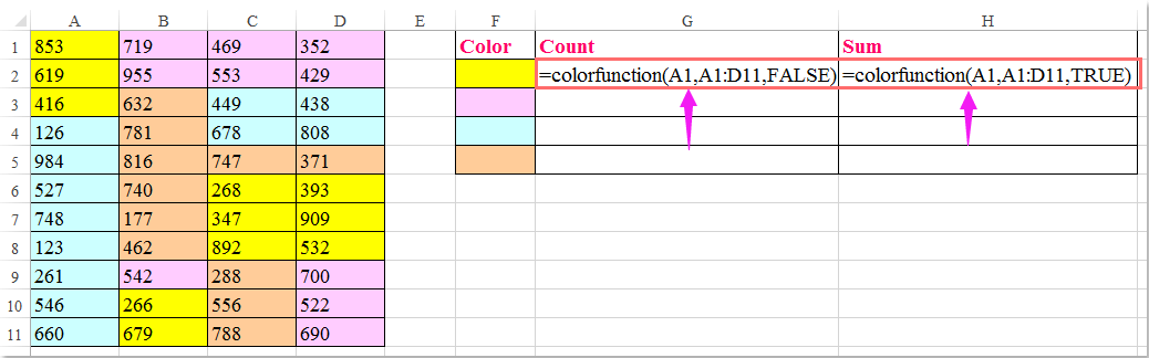 how to use where condition in excel