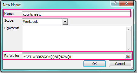 How to count the number of sheets of a workbook?