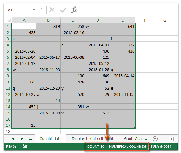 how to get only numbers in a cell excel