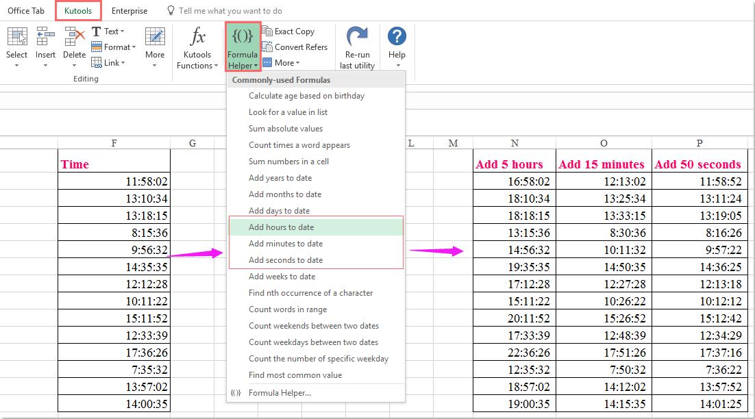 Wie man Stoppuhr in Excel-Arbeitsblatt erstellt?