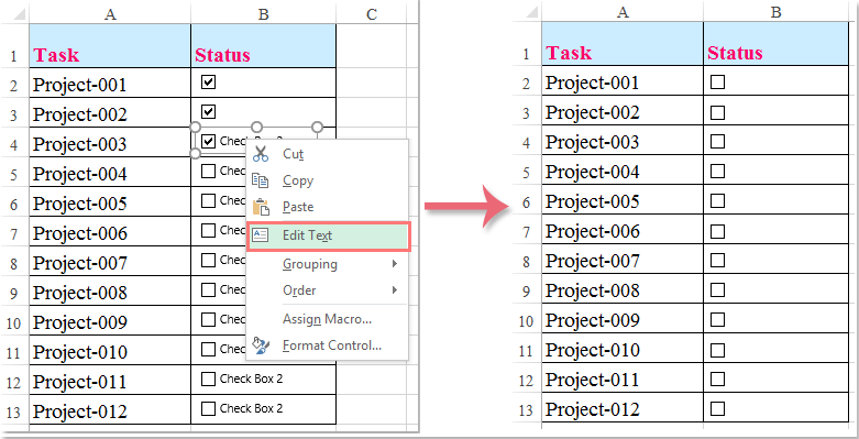 excel to do list