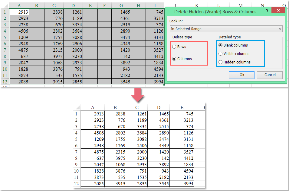 How to delete multiple empty columns quickly in excel ibookread ePUb