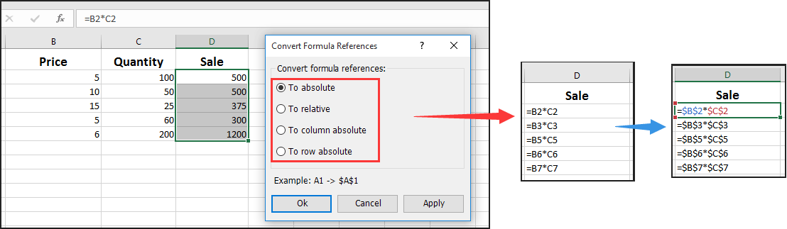 How To Force Formula To Always Use Same Cell In Excel