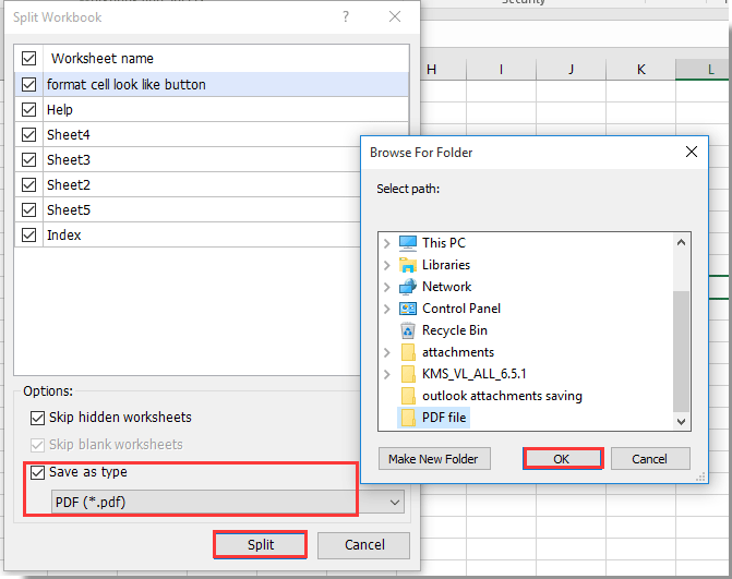 How to use Command Button to save active worksheet as PDF file in ...