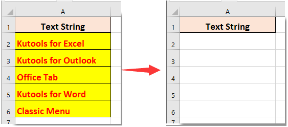 how to clear recent docs in excel