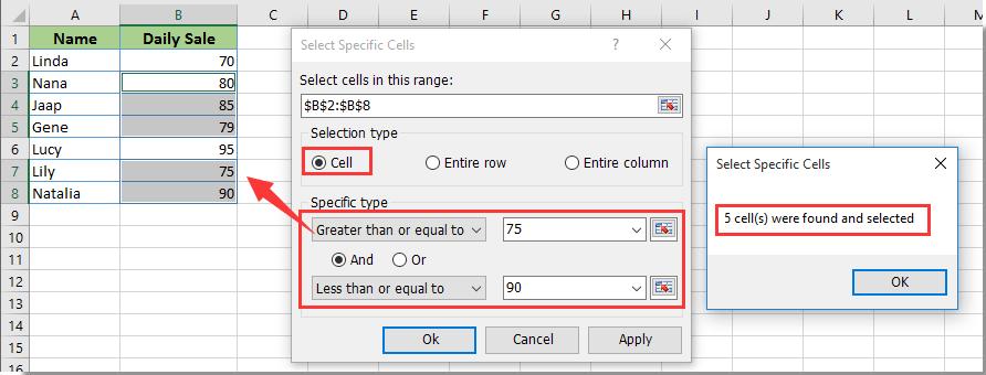 Wie man die Anzahl der Zellen zwischen zwei Werten oder Daten in ...
