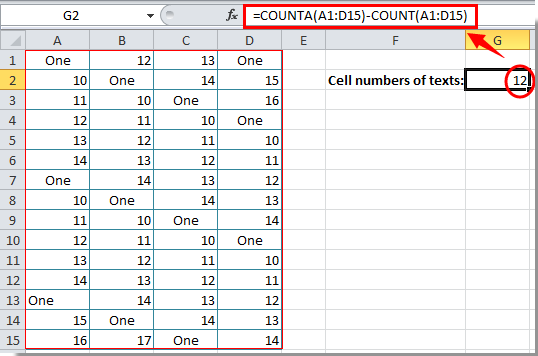 how to count letters in excel how to count number of cells with text or number in excel 22266