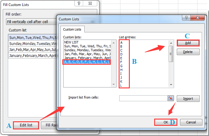 how to put a column in alphabetical order in excel