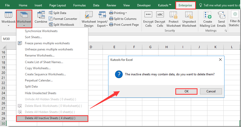 How To Delete All Sheets Except Specifiedcurrent One In Excel