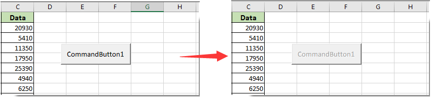 how to use buttons in excel