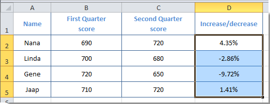 how to change negative numbers red in excel