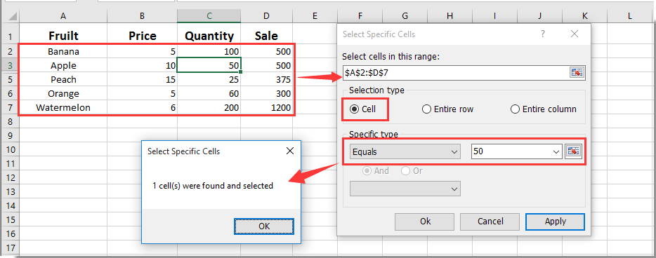 How To Pop Up Message Box If Cell Value Equals X In Excel