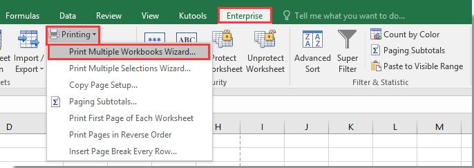 Cómo imprimir solo ciertas hojas de trabajo específicas en Excel?