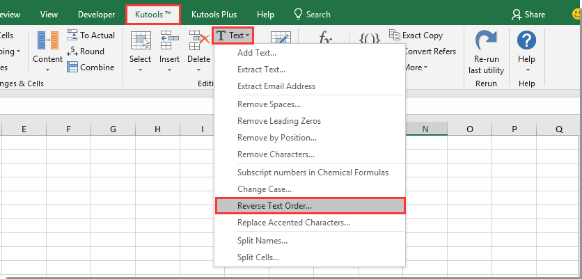 How To Rearrange Text In A Cell In Excel