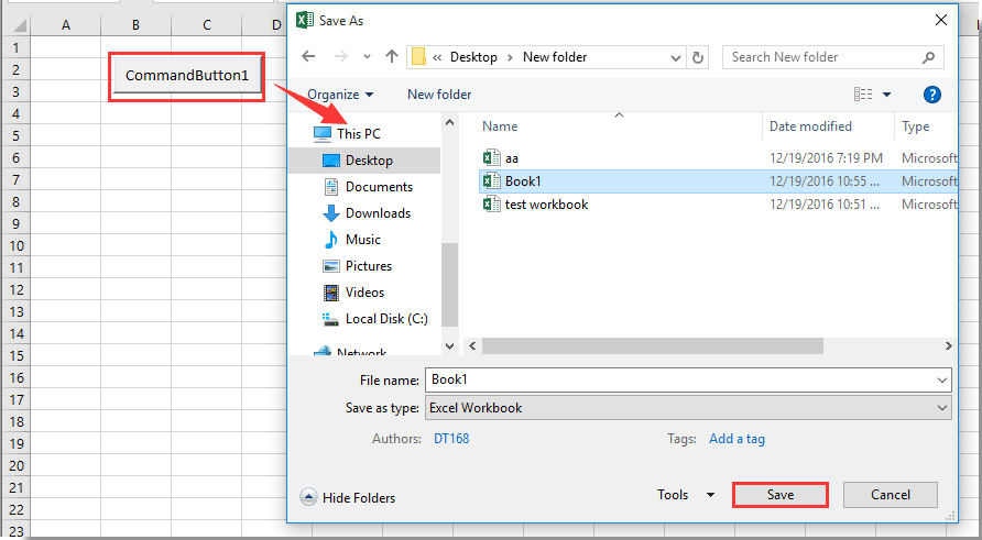 How to use Save As function to automatically overwriting existing ...