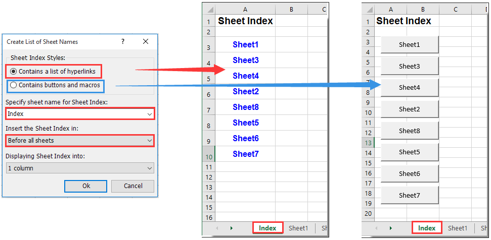 How to select specific worksheet based on cell value on another – Excel Vba Worksheets