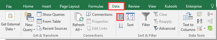 how to create a unique key in excel