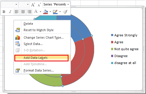 how to create doughnut chart in excel. Black Bedroom Furniture Sets. Home Design Ideas
