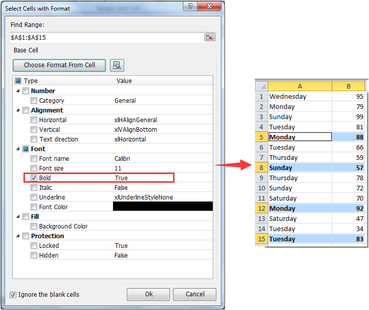 How To Make Cells Bold If Greater Than Certain Number In Excel