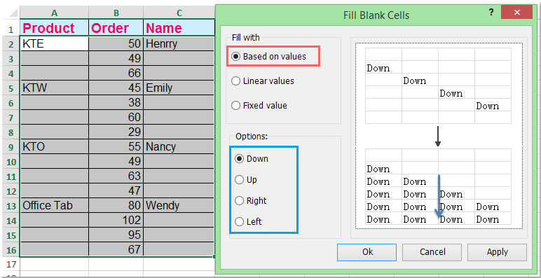 doc-fill-blank-cells-with-value-above7