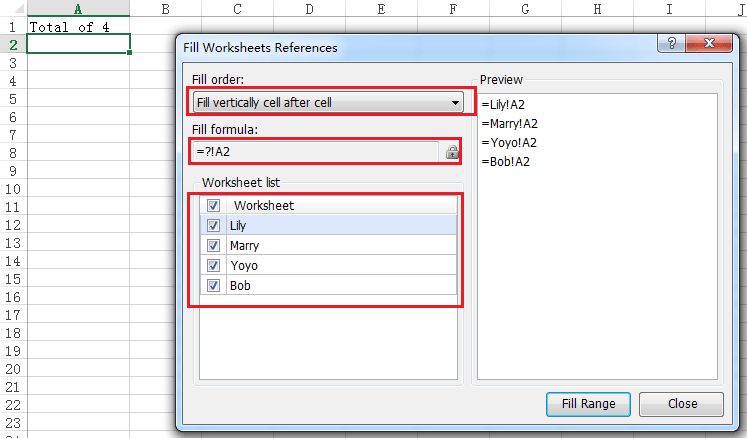 How To Autofill Same Cell From Different Sheets To A Sheet In Excel