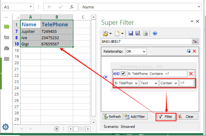 how to work out average on excel for selected data