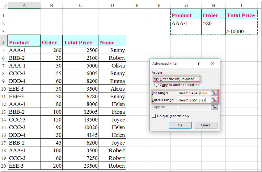 how to add multiple columns in excel