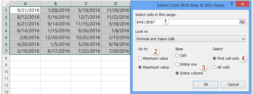 how to find range in excel video