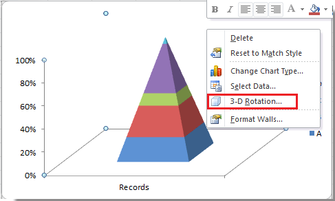 how to create a sales funnel in excel 2010
