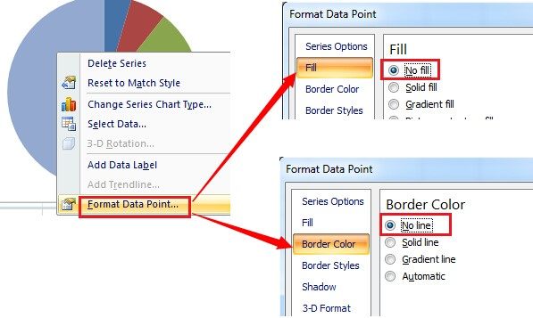 How To Create A Half Pie Chart In Excel