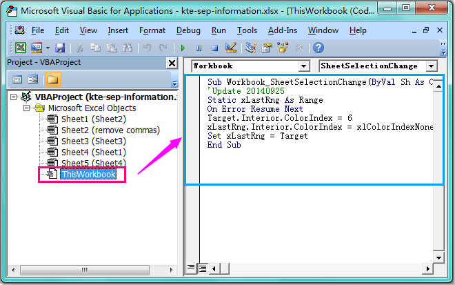 How To Highlight Active Cell Or Selection In Excel