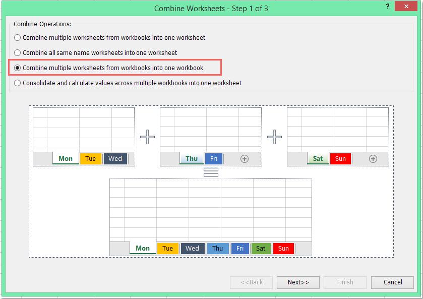 Wie importiert man mehrere CSV-Dateien in mehrere Arbeitsblätter?