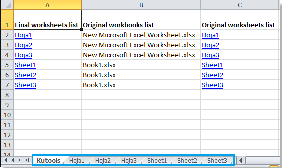 How to insert worksheets from another workbook?