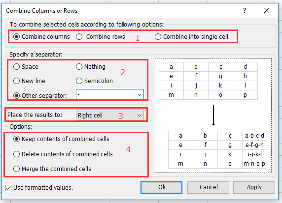 doc join data from two cells 8