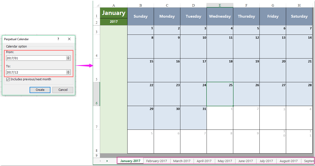 How To List All Mondays Fridays In A Month Excel Logic Diagram Doc 5